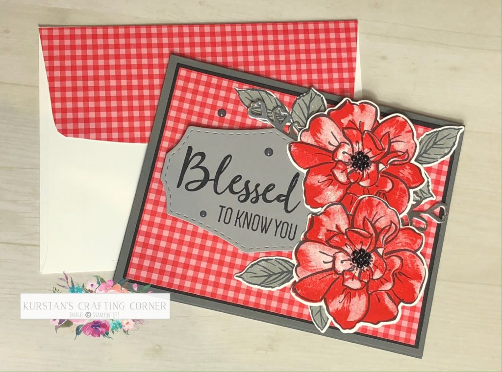 Kylie's Demonstrator Training Blog Hop – A Wild Rose Thank You